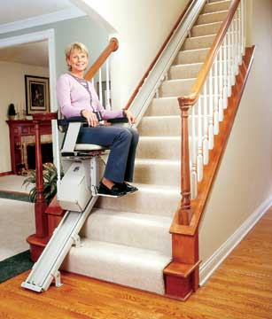 everyday then you need to look at acquiring a chair lift for stairs